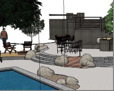 landscape design 3d modeling