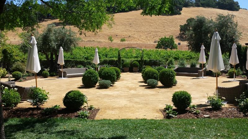 Wine Country Event Patio Gardenworks Inc Landscape Construction